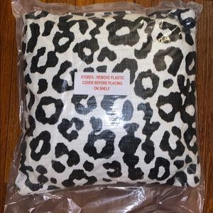 Leopard Print Accent Pillows (3 available)